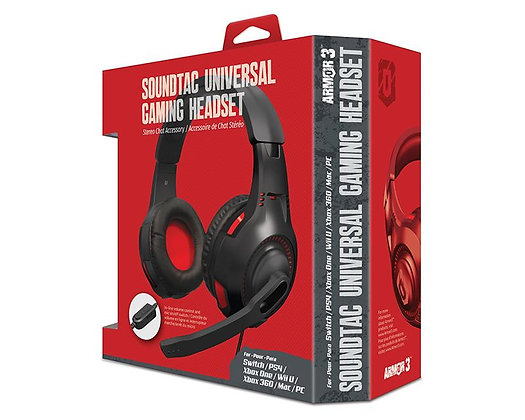 Armor3 SoundTac Universal Gaming Headset *New*