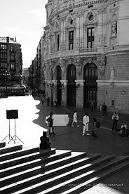 Street photography in Bilbao