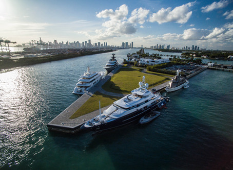 The Best Marinas in Miami for Luxury Superyacht