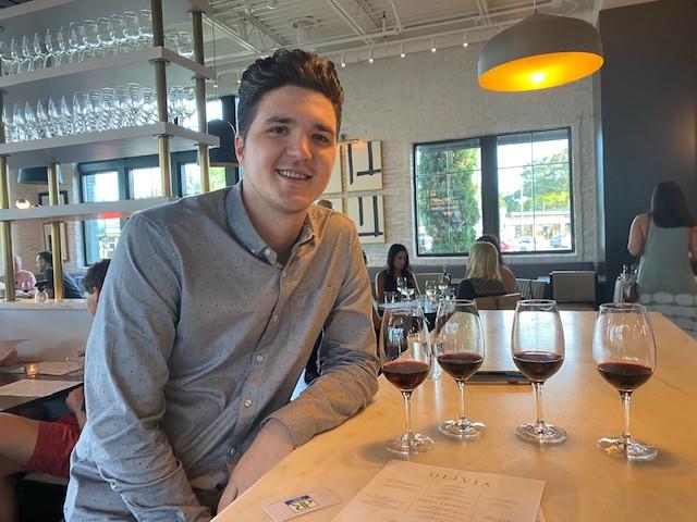 A trans-Atlantic wine experience at Olivia