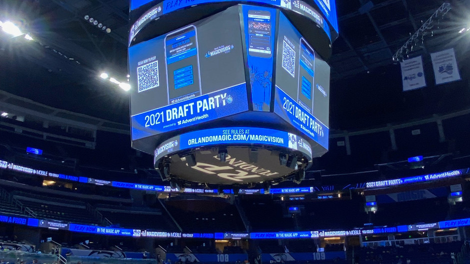 Going to the Orlando Magic Draft Party was a Celebration of Players Stories