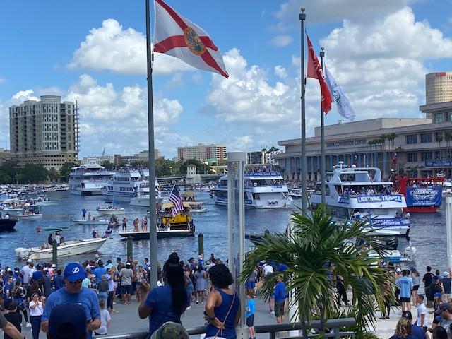 Champa Bay Lightning Boat Parade ~ A New  Tradition