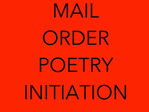INITIATION MAIL ORDER COURSE