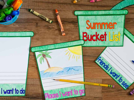 Creating a Bucket List and Doing It!
