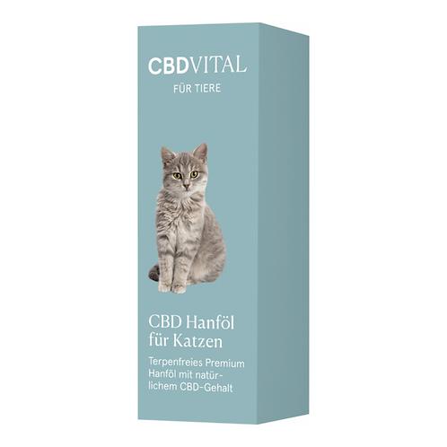 CBD Vital CBD Hanföl für Katzen