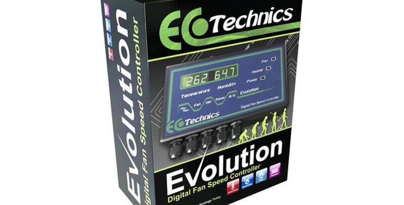 Ecotechnics Evolution Fancontroller Temperatur Luftfeuchte