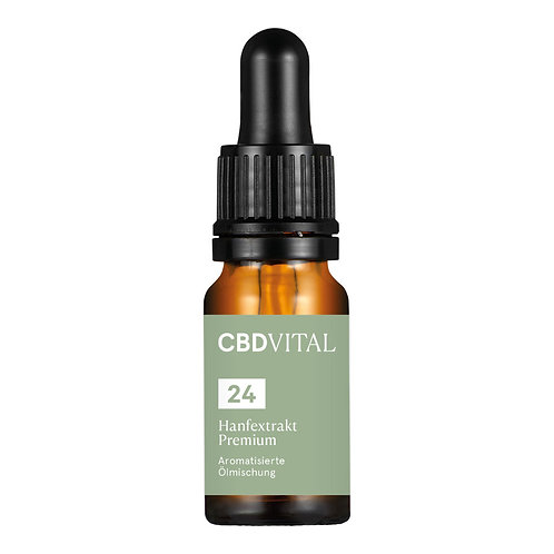 CBD Aromaöl CBD Vital Hanfextrakt Premium 24%