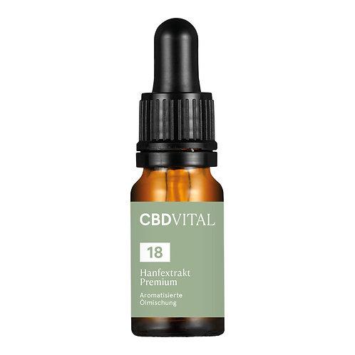 CBD Aromaöl CBD Vital Hanfextrakt Premium 18%