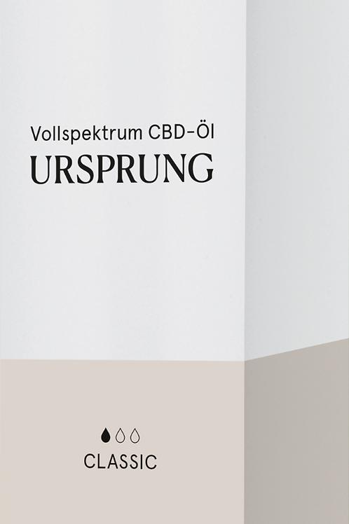 CBD Vollspektrum Öl URSPRUNG Classic -fünf-