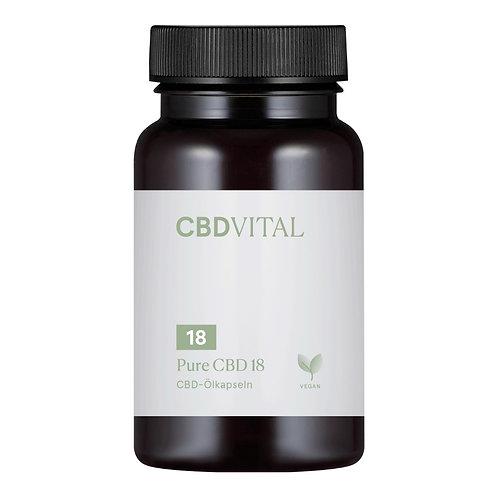 CBD Vital PURE CBD 18 (10%) Kapseln