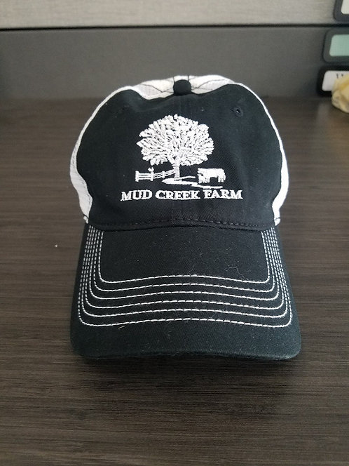 Mud Creek main logo ball cap