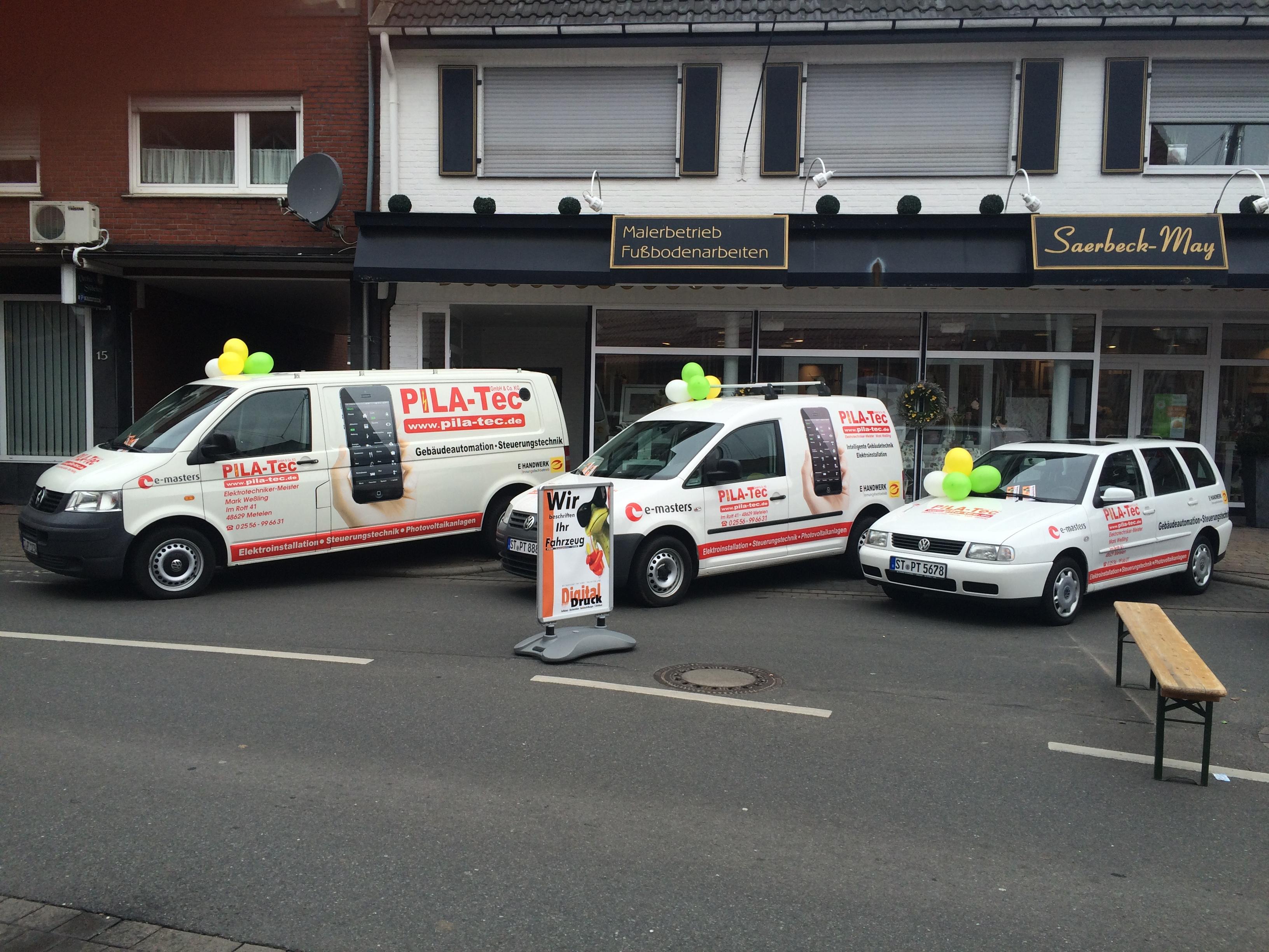 Fahrzeugbeschriftung Pila-Tec