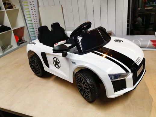 Kinderauto Folierung