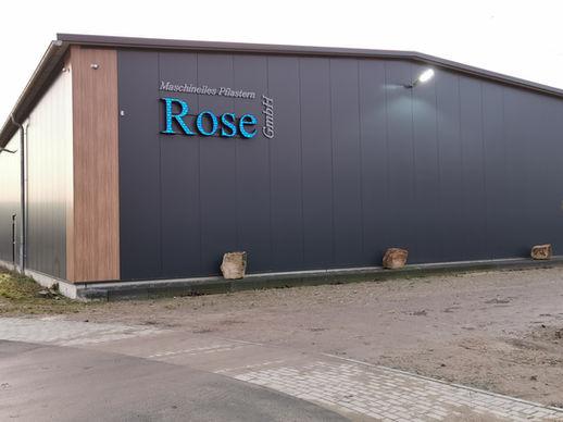 Rose Maschinelles Pflastern Schöppingen
