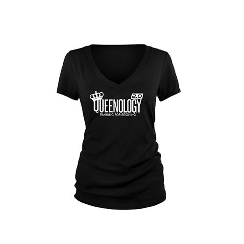 Queenology 2.0 V-Neck T-shirt
