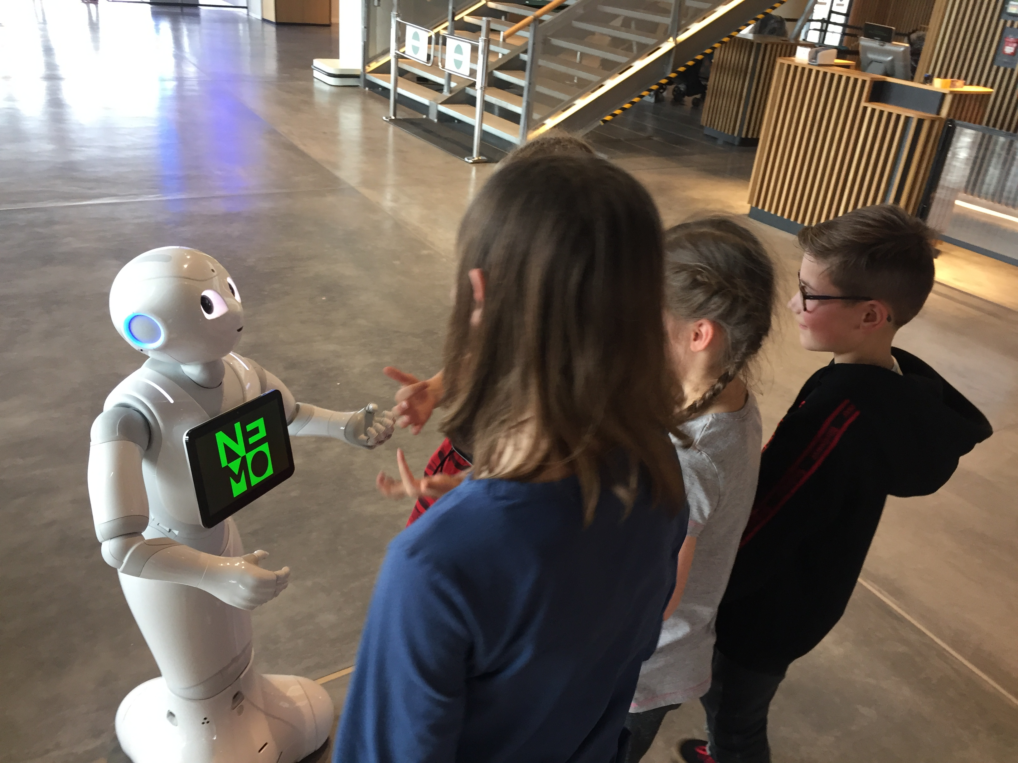 Kids met Robot