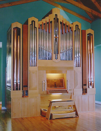 pipe organ, liturgical furniture