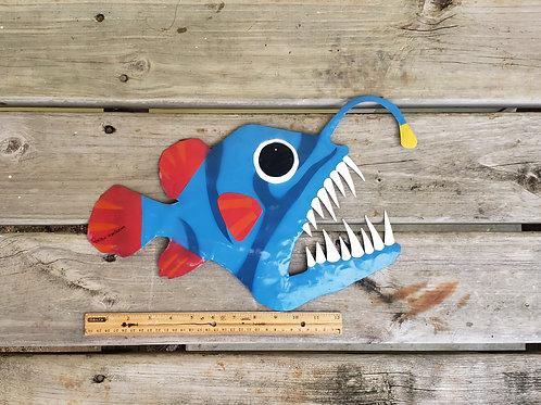 Angler fish (18 inch) deep sea