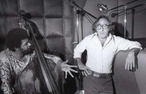 Bob Shad in Studio