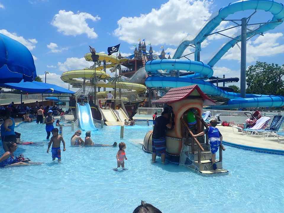 Kinderhaven- Children's Pool & Slide