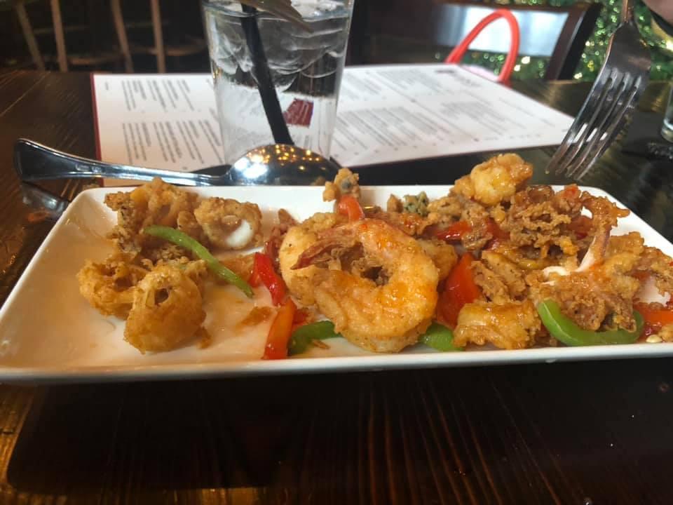 shrimp at Hearsay on the Strand