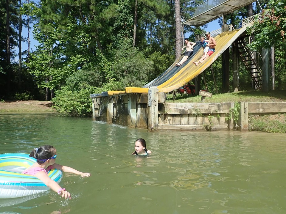 slides at The Retreat at Artesian Lakes in Texas