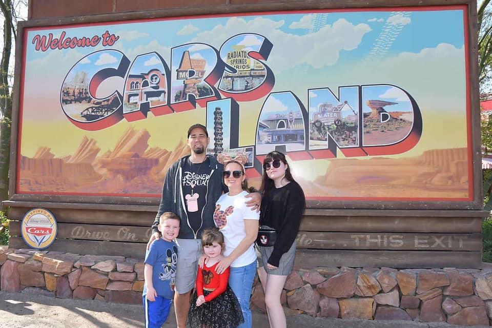 California Adventures cars land