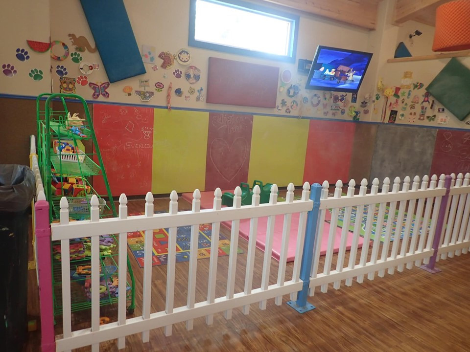 toddler area at jellystone park
