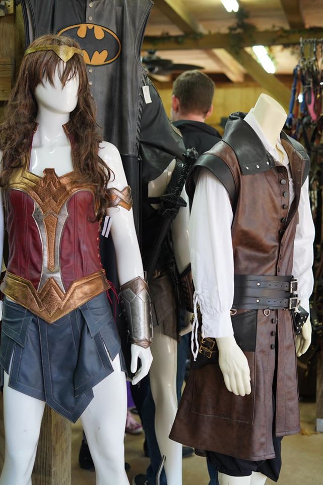 Leather Costumes at Texas Renaissance Festival