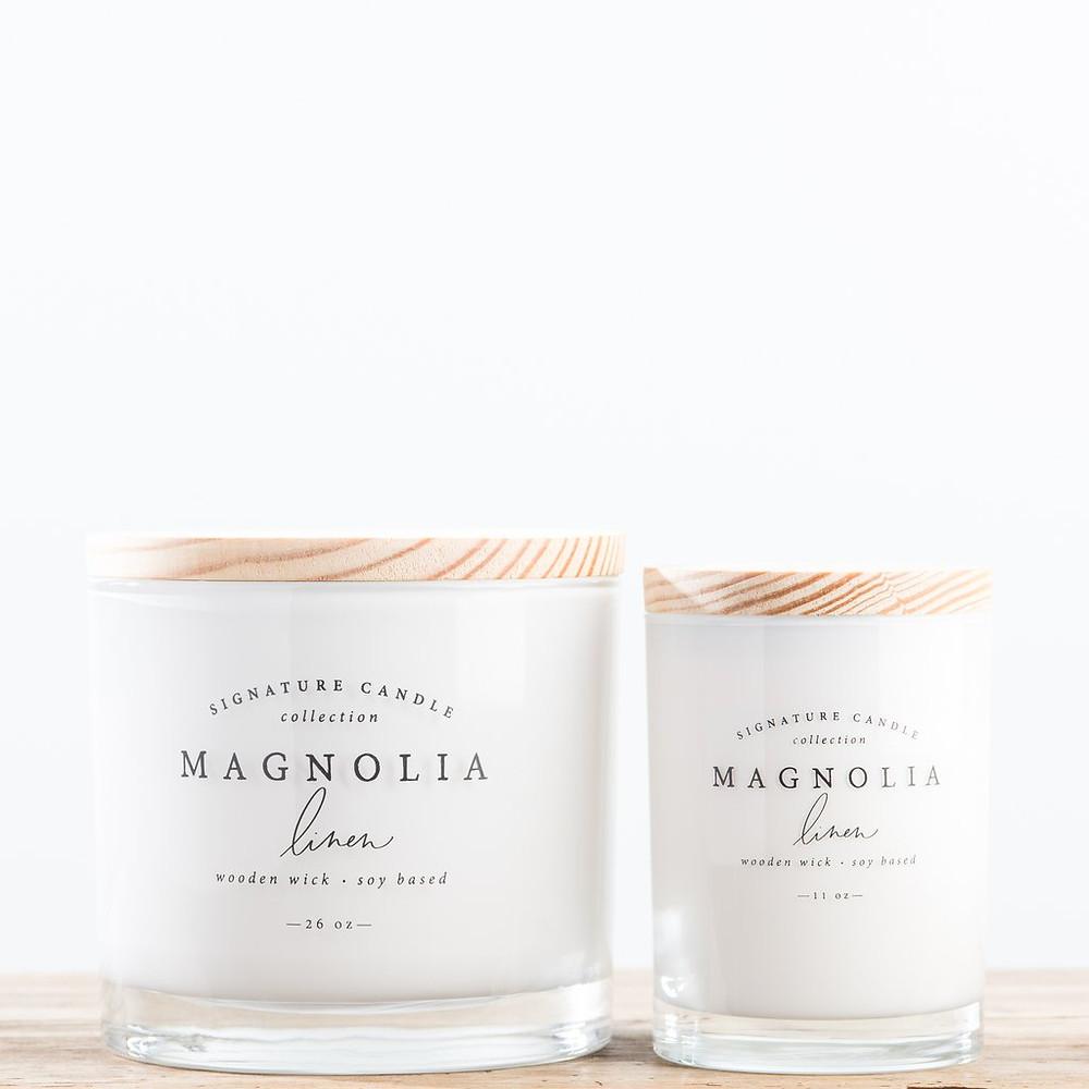 Candles at Magnolia Market