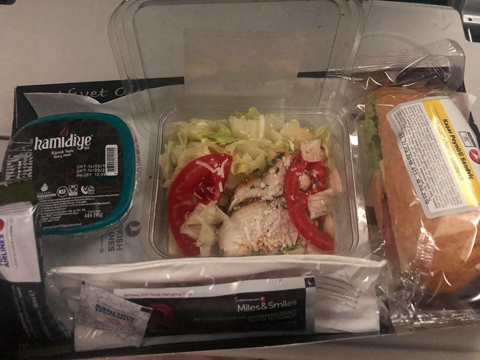 Turkish Airlines Food