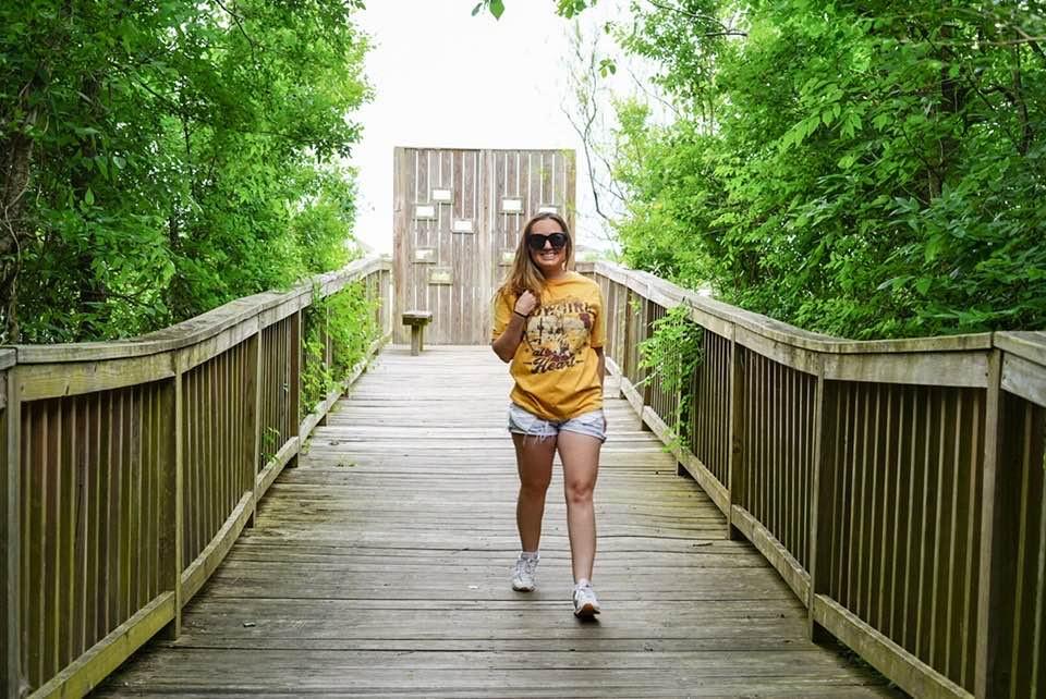 Walking at Nature Park