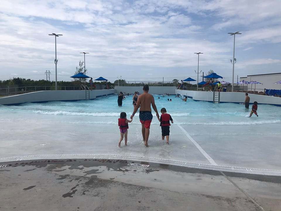 Wave Pool at Epic Waterpark
