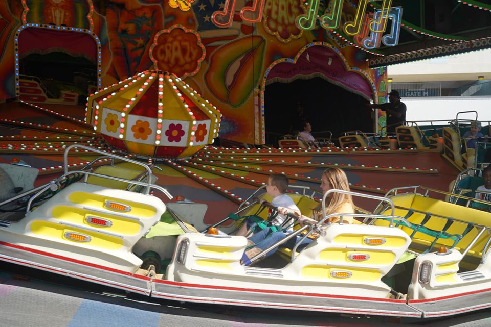 Rides at State Fair of Texas-Dallas