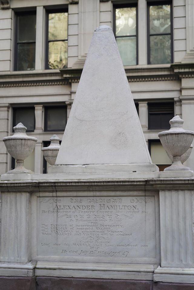 Alexander Hamilton Grave