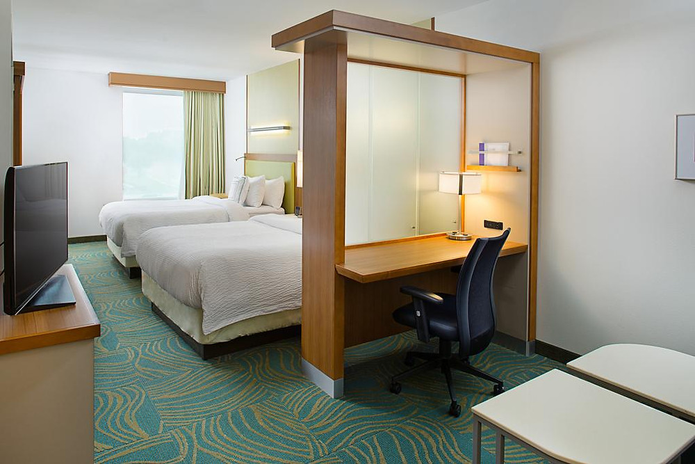 Room at Springhill Suites in Dallas
