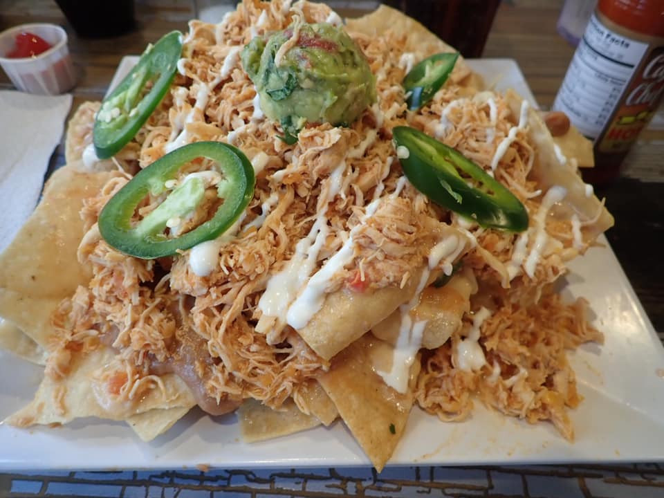 Nachos at The Spot