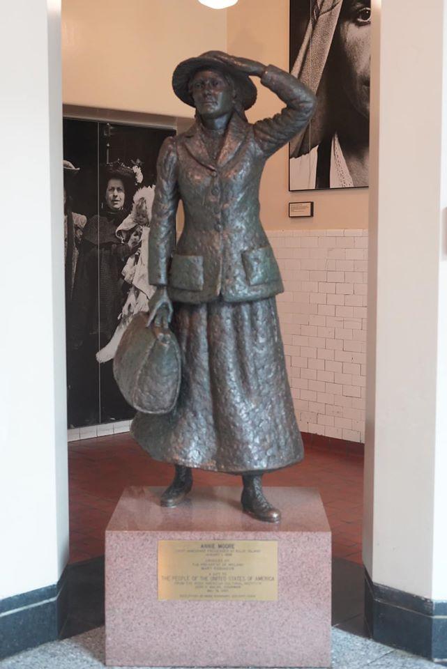 Immigrant Statue at Ellis Island