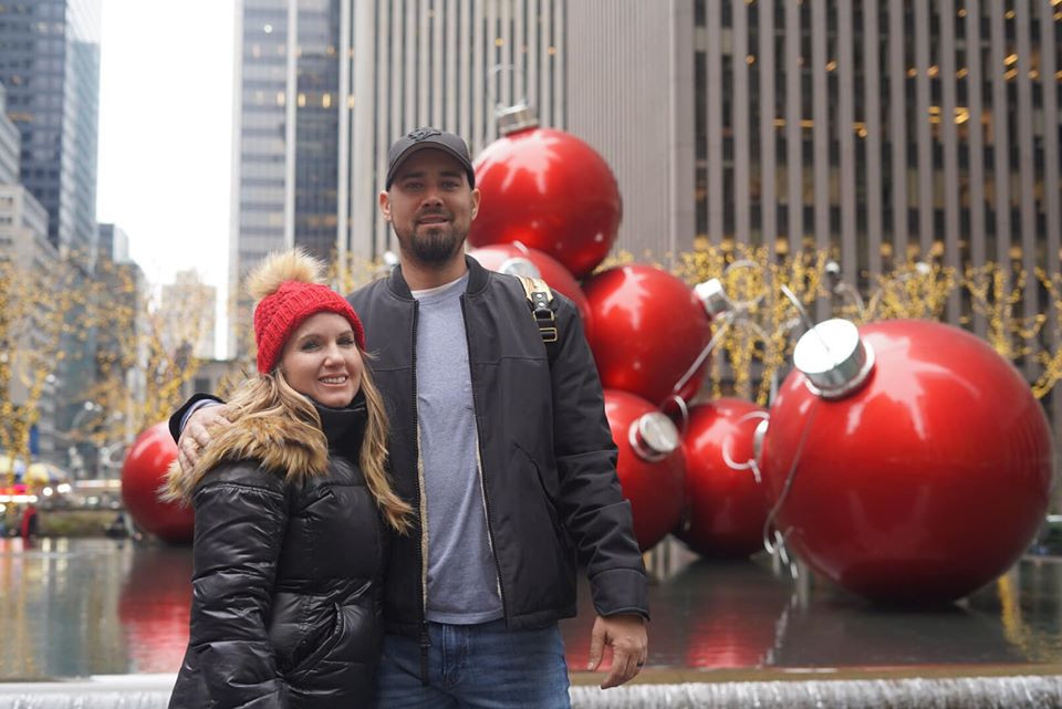Giant Christmas In New York
