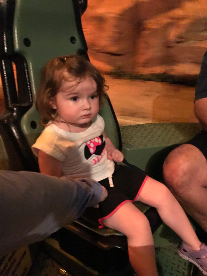 ride at Rainforest Cafe