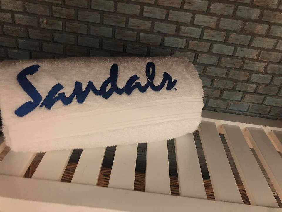 free gift sandals resort