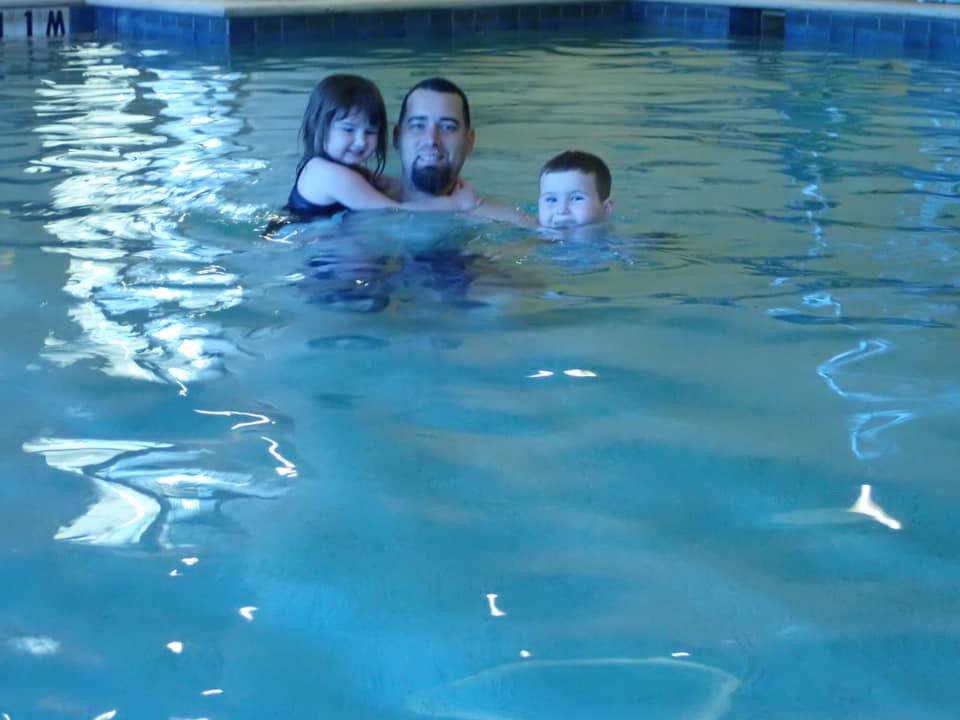 swimming at Gaylord Hotel