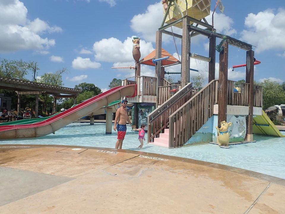 Kiddie Area at Jellystone Park