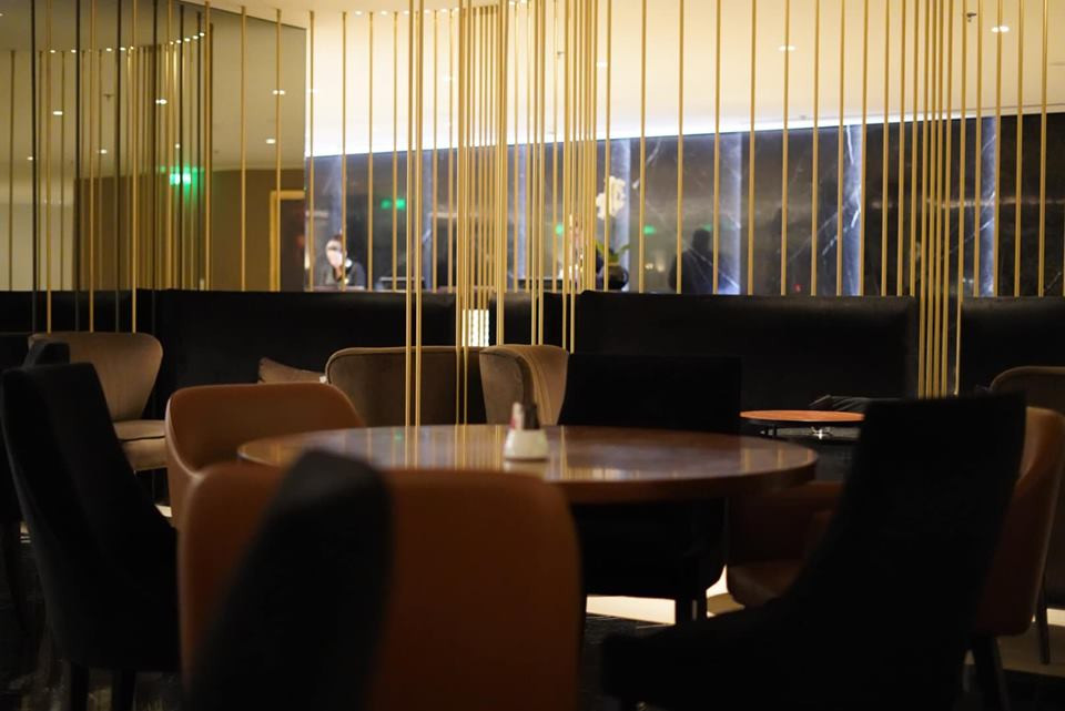 Resturant at Sofitel Hotel in Athens