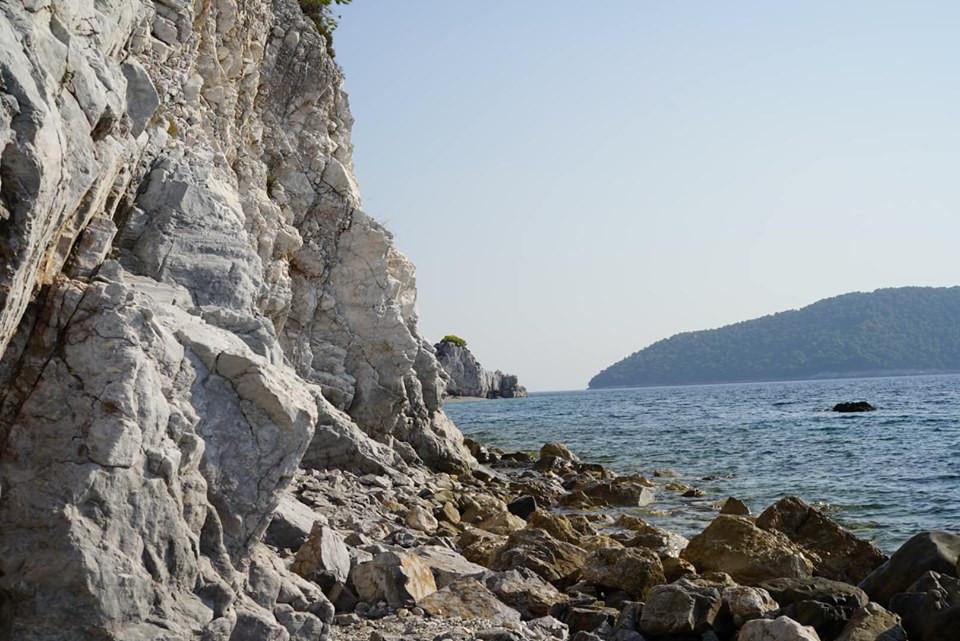 Hovolo Beach in Skopelos Island