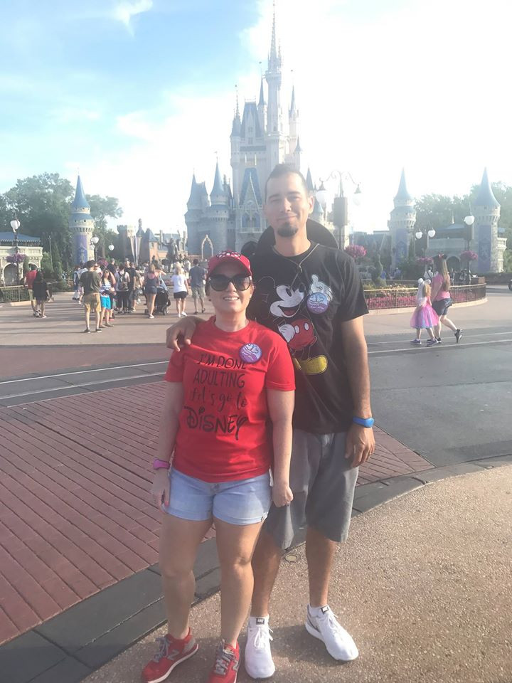 wedding anniversary at Disney