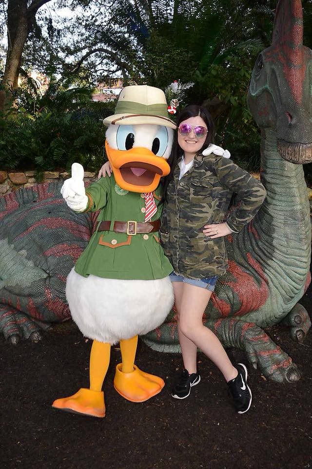 Angelique and Donald Duck