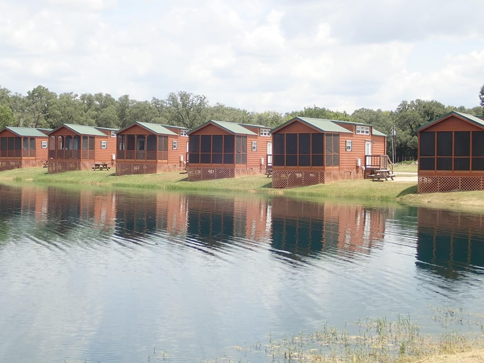 Cabins at Jellystone Park in Waller, Texas
