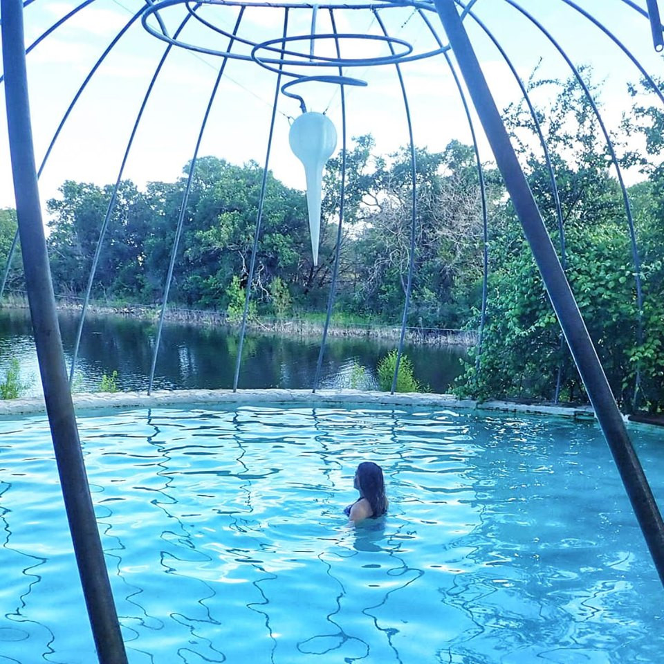 swimming pool Cypress Valley Canopy Tour in Austin, Texas