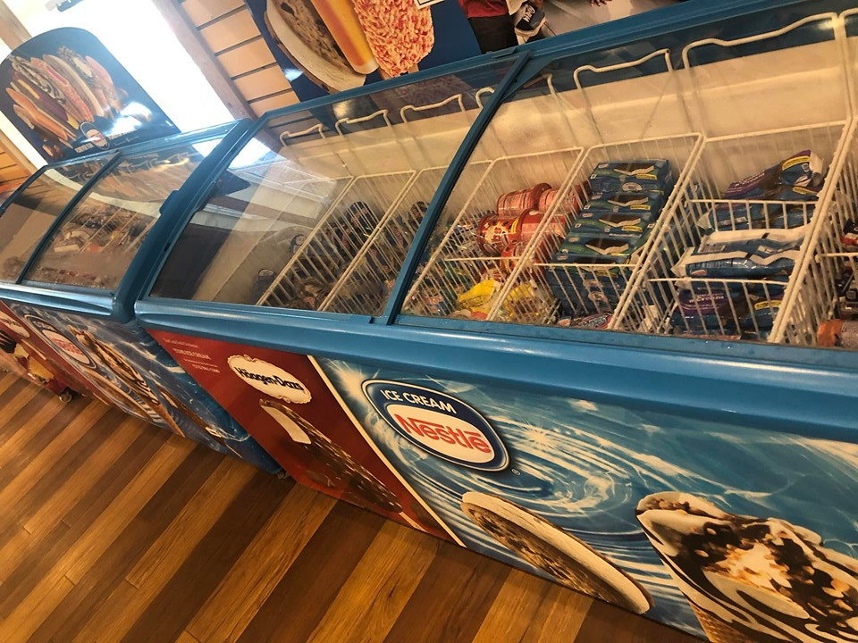 Ice Cream at Jellystone Park Convenience Store